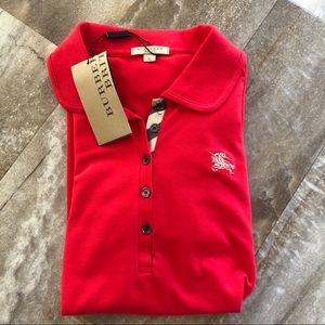 NWT Aunthentic Burberry Brit Women's Polo